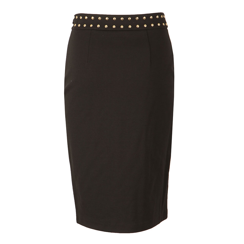 Embellished Slit Band Skirt main image