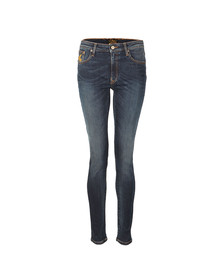 Vivienne Westwood Anglomania Womens Blue Super Skinny Jean