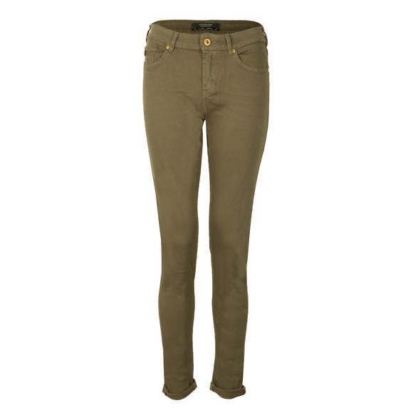 Maison Scotch Womens Green La Bohemienne Skinny Pant main image