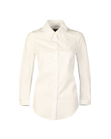 Vivienne Westwood Anglomania Womens White Scale Shirt