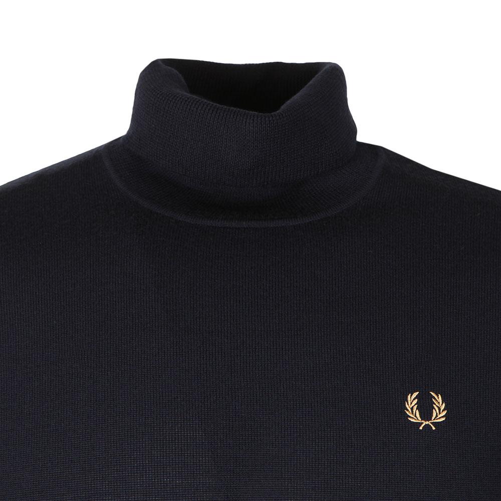 Merino Roll Neck Sweater main image