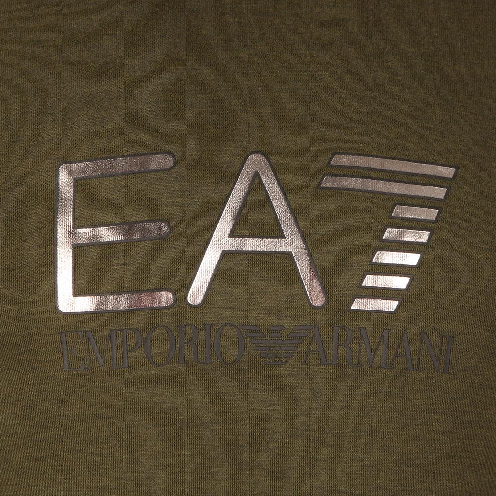 Metallic Logo Overhead Hoody main image