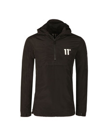 Eleven Degrees Mens Black Hurricane Windbreak