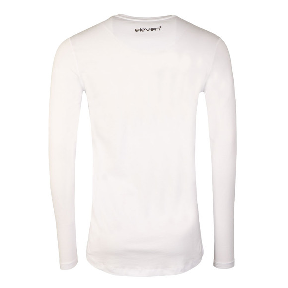 Eleven Degrees Mens White Core Long Sleeve T-Shirt main image