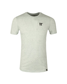 Eleven Degrees Mens Beige Composite Short Sleeve T-Shirt
