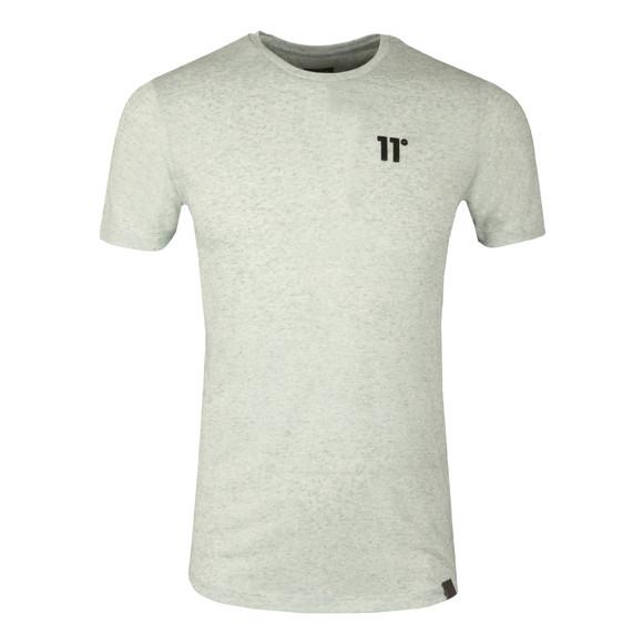 Eleven Degrees Mens Beige Composite Short Sleeve T-Shirt