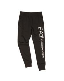 EA7 Emporio Armani Mens Black Side Logo Jogger