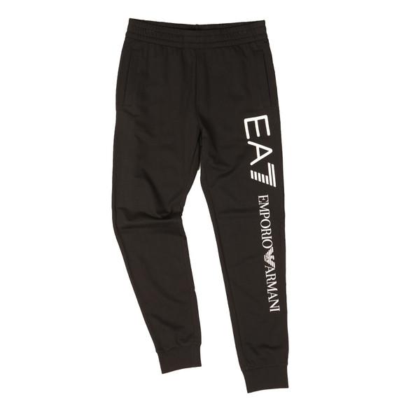 EA7 Emporio Armani Mens Black Side Logo Jogger main image