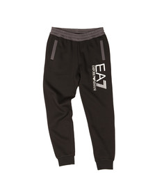 EA7 Emporio Armani Mens Black Two Tone Jogger