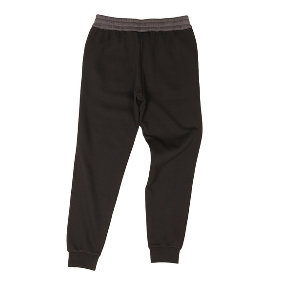 EA7 Emporio Armani Mens Black Two Tone Jogger main image