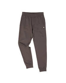 EA7 Emporio Armani Mens Grey Shield Logo Sweatpant