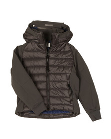 C.P. Company Undersixteen Boys Grey Puffer Soft Shell Jacket