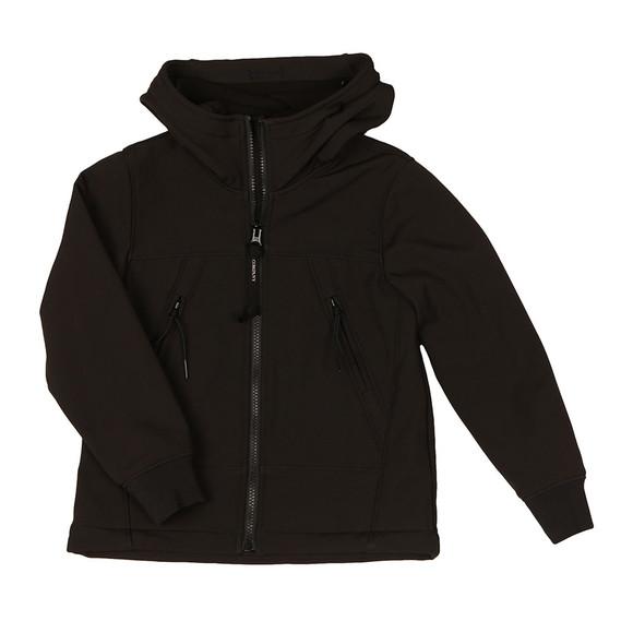 CP Company Undersixteen Boys Black Goggle Shell Jacket main image