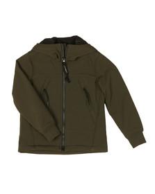 CP Company Undersixteen Boys Green Goggle Shell Jacket