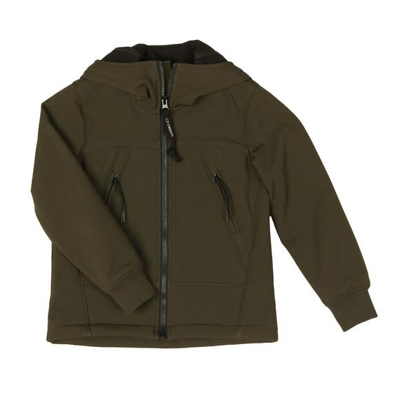 CP Company Undersixteen Boys Green Goggle Shell Jacket main image
