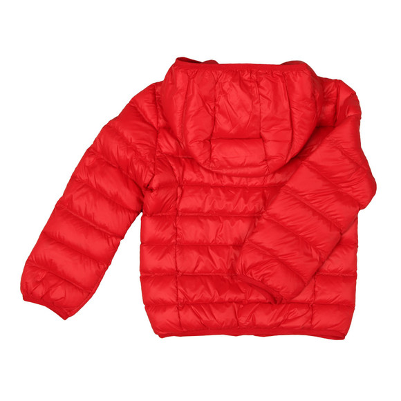 EA7 Emporio Armani Boys Red Down Puffer Jacket main image