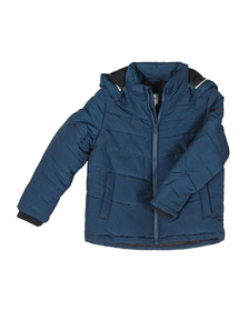 Boss Boys Blue J26324 Puffer Jacket
