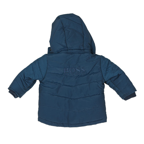 Boss Boys Blue Baby J06163 Puffer Jacket main image