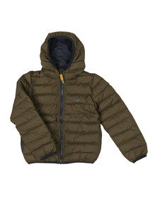 Timberland Boys Green T26446 Puffer Jacket
