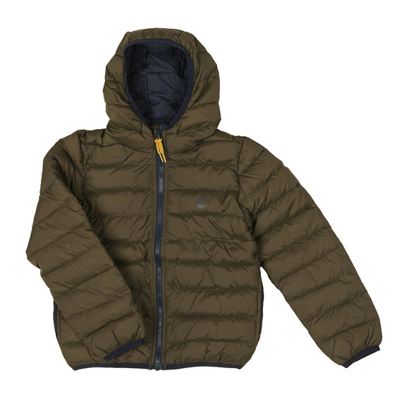 Timberland Boys Green T26446 Puffer Jacket main image