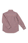 Paul & Shark Cadets Boys Multicoloured Check LS Shirt
