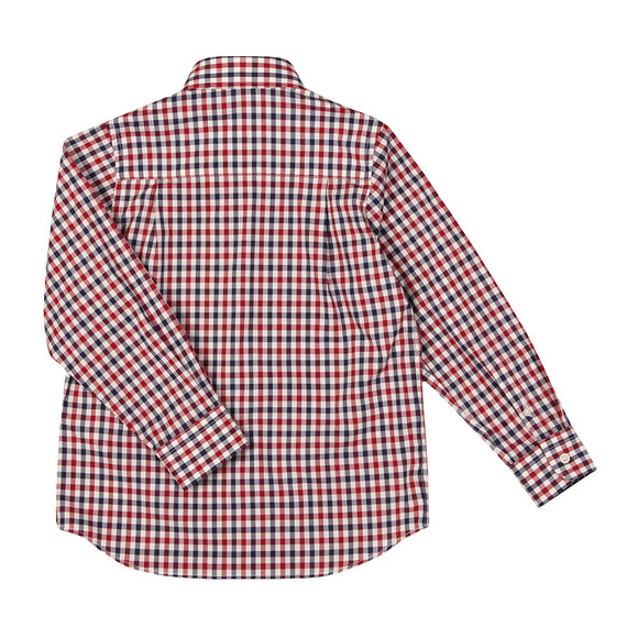 Paul & Shark Cadets Boys Multicoloured Check LS Shirt