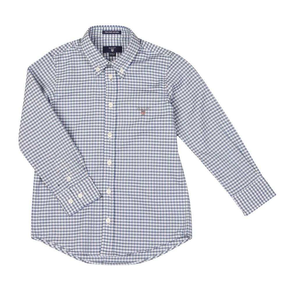 Tech Prep Oxford Gingham Shirt main image