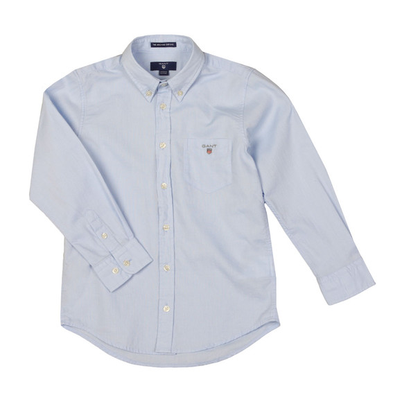 Gant Boys Blue Archive Oxford Shirt main image