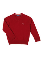Superfine Lambswool V Neck Jumper
