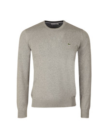 Lacoste Mens Grey AH7371 Crew Neck Jumper