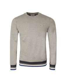 Lacoste Mens Grey SH6951 Sweatshirt