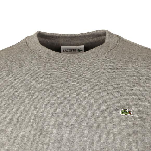 Lacoste Mens Grey SH6951 Sweatshirt main image