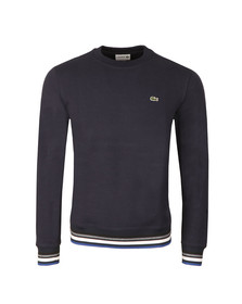 Lacoste Mens Blue SH6951 Sweatshirt