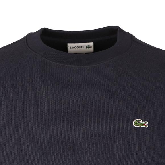Lacoste Mens Blue SH6951 Sweatshirt main image