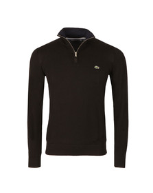 Lacoste Mens Black AH7368 1/2 Zip Jumper