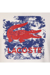 Lacoste Sport Mens White S/S TH8125 Tee