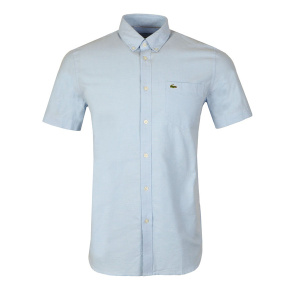 Lacoste Mens Blue CH9595 SS Shirt main image