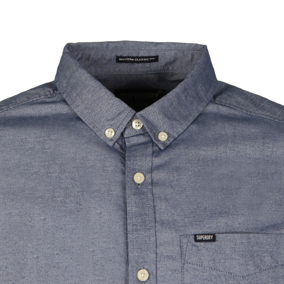 Superdry Mens Blue Ultimate Oxford Shirt main image