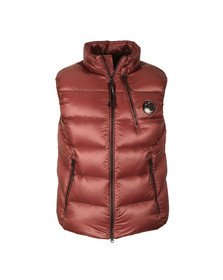 CP Company Mens Red Viewfinder Gilet
