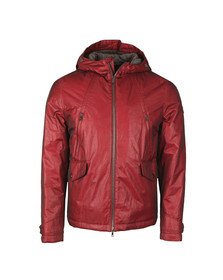 Paul & Shark Mens Red Woven Fire Jacket