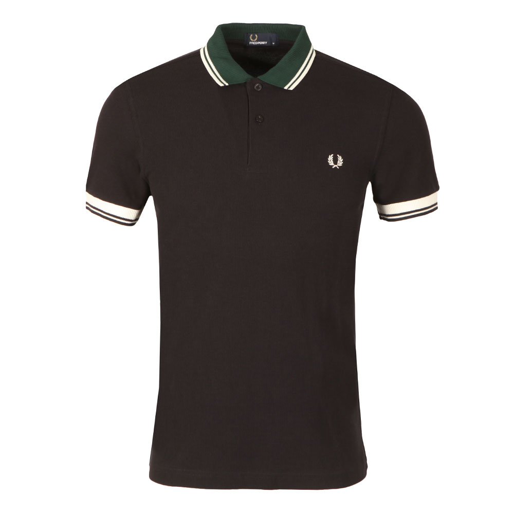 S/S Ribbed Trim Polo main image