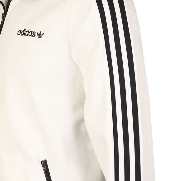 Adidas Originals Mens White Beckenbauer Track Jacket main image