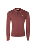 Slim Fit Long Sleeve Polo Shirt