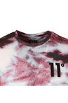 Eleven Degrees Mens Multicoloured Red Dye Sub Tee