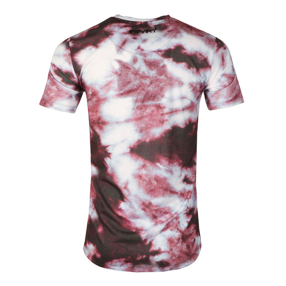 Eleven Degrees Mens Multicoloured Red Dye Sub Tee main image