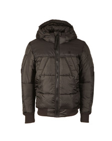 G-Star Mens Black Whistler Hooded Bomber