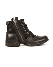 Replay Mens Black Clutch Boot