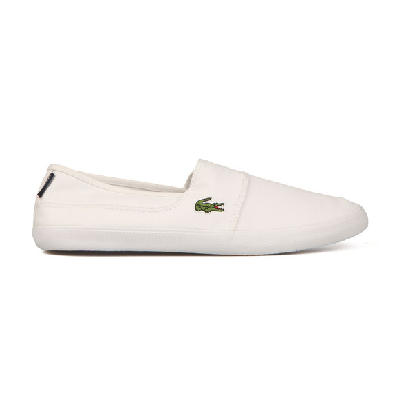 Lacoste Mens White Marice BL 2 Cam Trainer