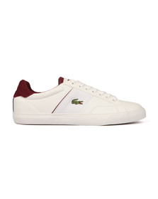 Lacoste Mens White Fairlead 317 Cam trainer