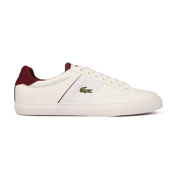 Lacoste Mens White Fairlead 317 Cam trainer main image